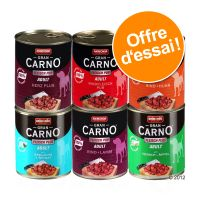 Lot mixte Animonda GranCarno Original Adult 6 x 800 g