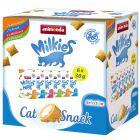 Lot mixte Animonda Milkies pour chat, 6 x 30 g