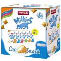 Lot mixte Animonda Milkies pour chat, 6 x 30 g