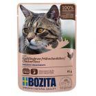 Lot mixte Bozita Bouchées en gelée 12 x 85 g pour chat