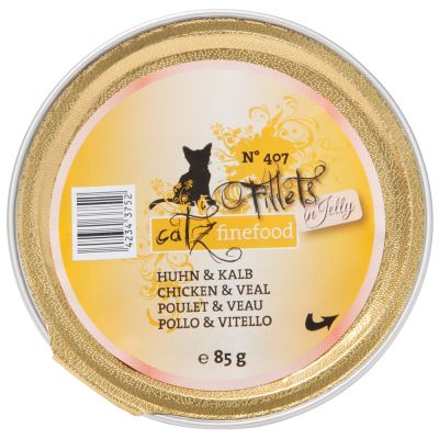 Lot mixte catz finefood Fillets 6 x 85 g pour chat