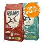 Lot mixte DANO BIO 2 x 800 g pour chat
