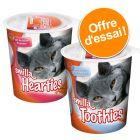Lot mixte de friandises Smilla Hearties + Smilla Toothies pour chat