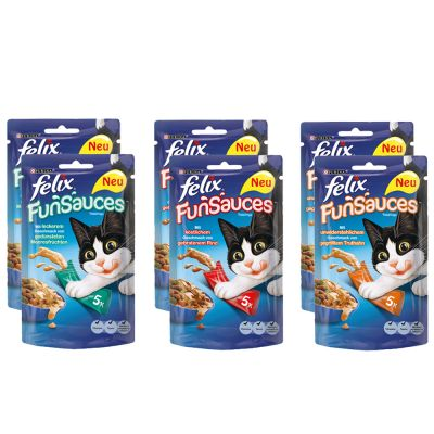 Lot mixte Felix FunSauces pour chat