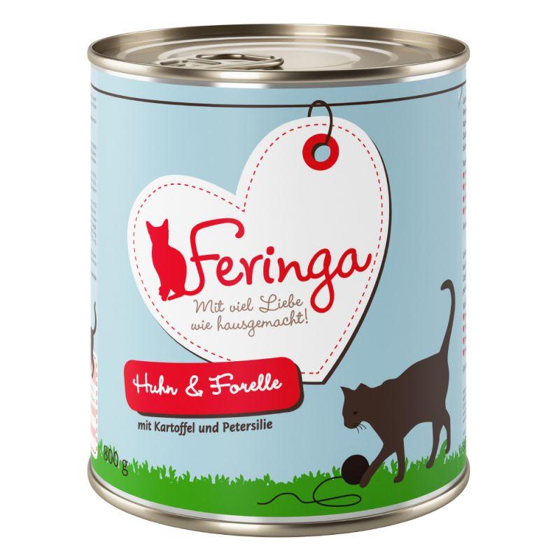 Lot mixte Feringa Classic Meat Menu 6 x 800 g pour chat
