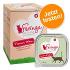 Lot mixte Feringa Classic Meat Menu 6 x 100 g pour chat