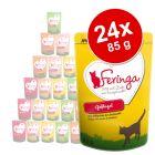 Lot mixte Feringa 24 x 85 g pour chat