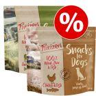 Lot mixte Friandises Purizon 2 x 100 g pour chien