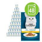 Lot mixte Gourmet Perle 48 x 85 g pour chat