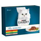 Lot mixte Gourmet Perle 8 x 85 g pour chat