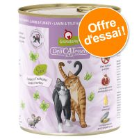 Lot mixte GranataPet DeliCatessen 6 x 800 g pour chat