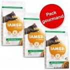 Lot mixte IAMS 3 x 3 kg pour chat