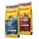 Lot mixte Josera Optiness + SensiPlus 2 x 15 kg pour chien