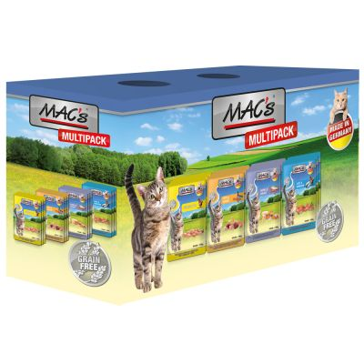 Lot mixte MAC's 12 x 100 g pour chat