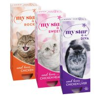 Lot mixte My Star 30 x 90 g pour chat