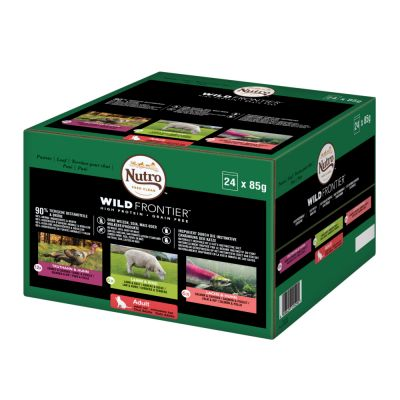 Lot mixte Nutro Wild Frontier pour chat