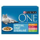 Lot mixte PURINA ONE Chat stérilisé 8 x 85 g