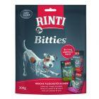 Lot mixte RINTI Bitties 3 x 100 g pour chien