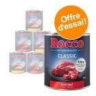 Lot mixte Rocco 6 x 800g pour chien