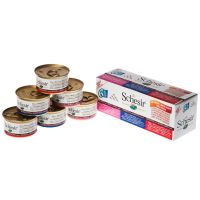 Lot mixte Schesir natural, riz 6 x 85 g