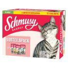 Lot mixte Schmusy Ragout en gelée pour chat