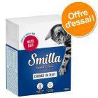 Lot mixte Smilla Bouchées 6 x 370 / 380 g pour chat