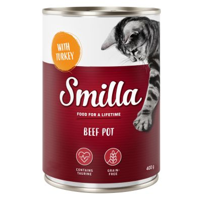 Lot mixte Smilla bœuf pour chat