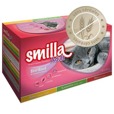 Lot mixte Smilla Sterilised, adult