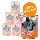 Lot mixte Smilla volaille 6 x 800 g pour chat