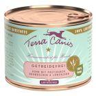 Lot mixte Terra Canis sans céréales 12 x 200 g pour chien