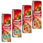 Lot mixte Versele-Laga Prestige Sticks pour grande perruche