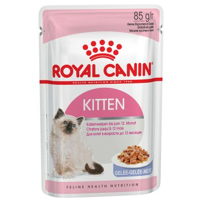Lot mixte 24 x 85 g Royal Canin en gelée et en sauce