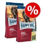 Lot mixte : 2 x 12,5 kg Happy Dog Supreme pour chien
