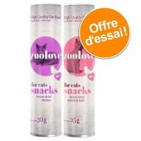 Lot mixte zoolove Friandises pour chat