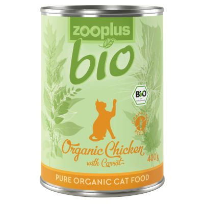 Lot mixte zooplus Bio 6 x 400 g pour chat