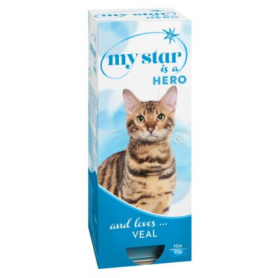 Lot My Star 60 x 90 g pour chat