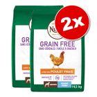Lot Nutro Grain Free pour chien