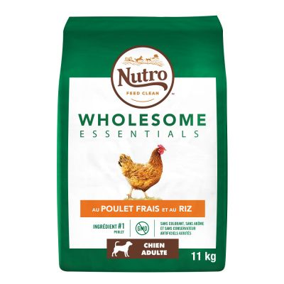 Lot Nutro Wholesome Essentials 2 x 11 kg pour chien