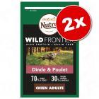 Lot Nutro Wild Frontier 2 x 10 kg pour chien