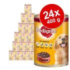 Lot Pedigree Classic 24 x 400g pour chien