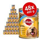 Lot Pedigree Classic 48 x 400g pour chien