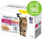 Lot Perfect Fit 96 x 85 g pour chat