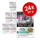 Lot Pro Plan 24 x 85 g pour chat
