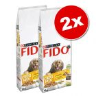 Lot PURINA Fido 2 x 10/15 kg pour chien