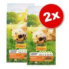 Lot PURINA Friskies 2 x 10 kg pour chien