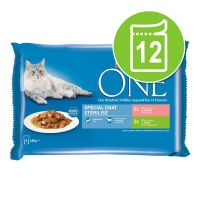 Lot PURINA ONE 12 x 85 g pour chat