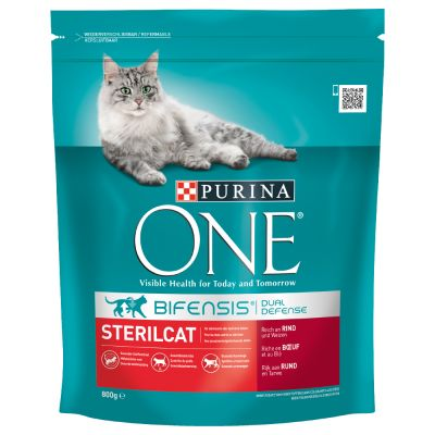 Lot Purina ONE 6 x 800 g pour chat