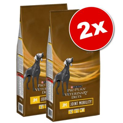 Lot PURINA PRO PLAN Veterinary Diets 2 x 11/12 kg pour chien