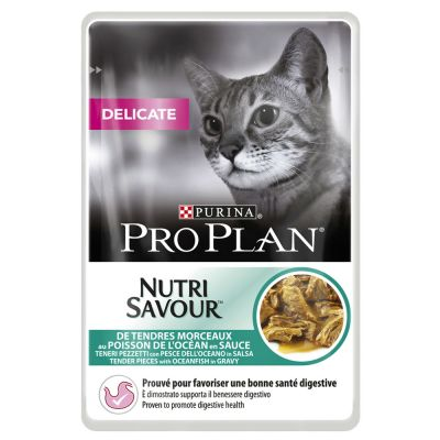 Lot PURINA PRO PLAN 48 x 85 g pour chat
