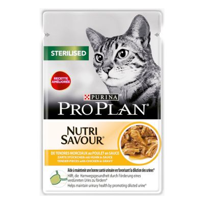Lot PURINA PRO PLAN 24 x 85 g pour chat